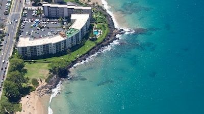 Royal Mauian is located right on the water between two of Maui's best beaches.